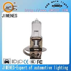 long life car h3 halogen lamp 12v 55w pk22s 400 life hours