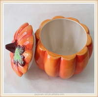 Factory Price Ceramic Decorative Halloween Pumpkin/Ceramic Pumpkin for sale
