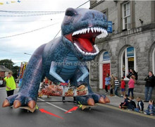 15ft Custom Shape Giant Inflatable Triceratops