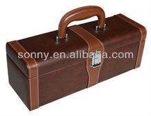 chest wine box with wine opener set