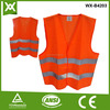 custom label red Conventional vest safety guard
