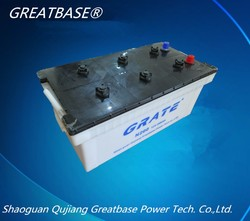 cheap price lead acid dry charge car/bus/truck battery manufacturer n200- 12V 200ah