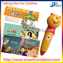 new products Fairy Tales Baby learning talking pen with Arabic