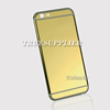 mobile phone gold case luxury plating gold for iphone 6s back gold housing cover