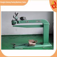 Automatic corrugated carton box stapler or stapling and stitching machine