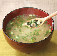 Delicious shijimi clam instant dried food miso soup made in Japan