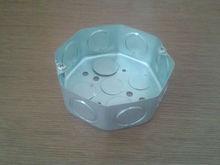 """4""""*4""""La instalación eléctrica de la Caja octogonal galvanizado Con doble golpe de agujeros"""