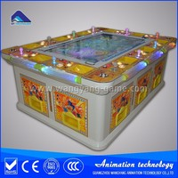 Crazy fish catcher electronic arcade machine catching fishing game machine IGS King of Treasures