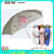 Wholesales Colourful New Design Wine Bottle Cap Umbrella