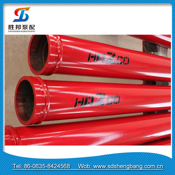 Concrete transmission pipes cement lined