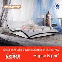 New arrival teak wood modern bed designs
