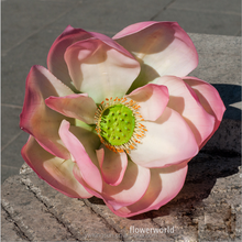 China Cheap Long Shoot Artificial Lotus flowers for Wedding Valentine's Day gifts