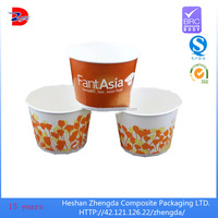 new production double wall food packaging paper bowl pack hot soup, noodle,ice cream
