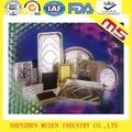 Recipiente de aluminio papel de aluminio