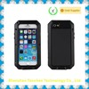 black color for iPhone 6 Plus Waterproof Case Clear Back Cell Phone Awesome Protective Covers