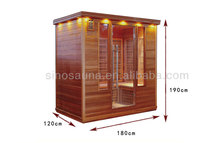 4 person personal far infrared family sauna room spa wellness products