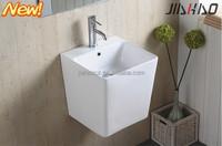 New Arrival Ceramic Wall - hung Basin , Bathroom Sink 6400