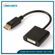 displayport dp to dvi connects converter ,H0T059 display port to dvi adapter cable converter
