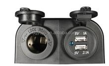 12v/24v waterproof Vertical Socket/Power Extension /usb Power Outlet