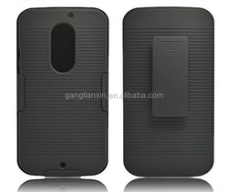 China low price stripe kickstand mobile phone covers for motorola x2