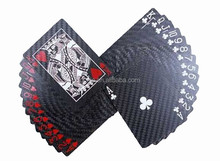 HOT SELLING !!!carbon fiber playing cards / perfect fashion playing cards