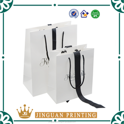 Cusomtized printing logo gift paper bag cardboard shopping bag packaging bag