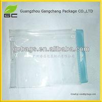 China factory clear vinyl pvc messenger bag
