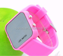 touch led watch,manufacturer specials supply super fashion LED mirror watches