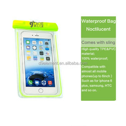 New High quality transparent mobile phone bag waterproof