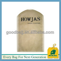 MJ-KS02 simple and easy cheap clear nonwoven suit cover for jacket