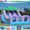 2015 new designed inflatable dry slide, attractive inflatable slide, commercial used inflatable slide for sale