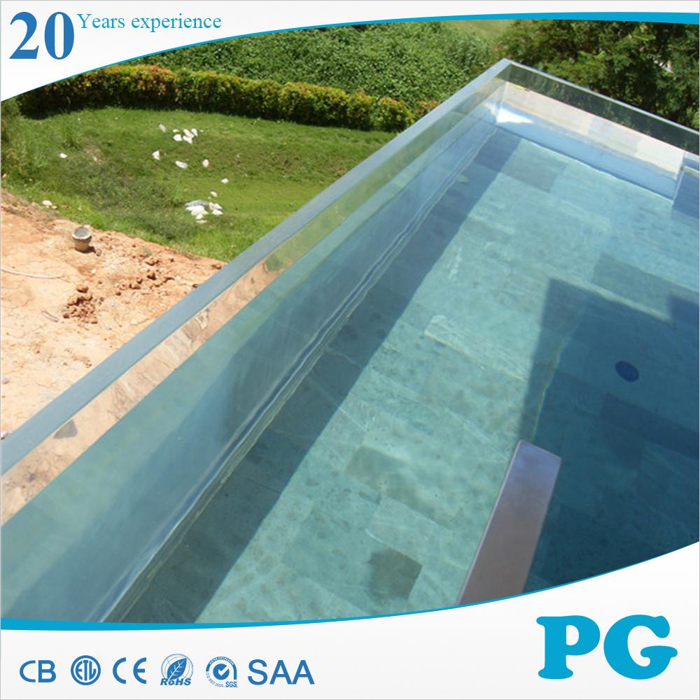 Pg acr lico transparente uma piscina chapas de pl stico id for Piscina de acrilico