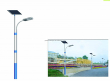 LED Solar Powered Street Light residential, 6m Pole 65W LED street light price