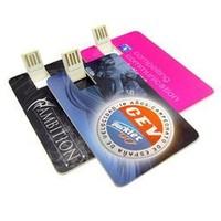 Hot Business Card USB 2.0 Disk Credit Card USB Flash Drive