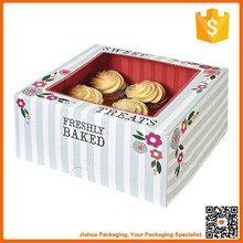 paper cupcake box with window for sale