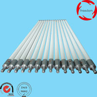 Fused Silica Ceramic Roller with Specification 15mm*897mm