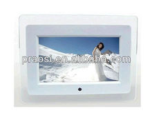 7 inch motion sensor frame,auto play photo,music,video when people come near