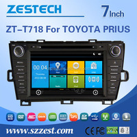 Factory price car GPS multimedia system For TOYOTA PRIUS touch screen 2 din auto car audio radio player
