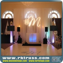 High quality and cheap price!! curtains and drapes for events/wedding/exihibition manufacturer in China pipe and drape backdrop