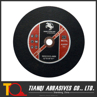 Abrasives cut off wheel for stationary machine EN12413 Standard