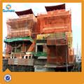 laranja segurança redes de plástico