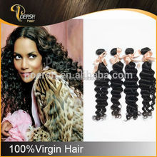 POERSH 6A 100% Unprocessed Natural Black Deep Wave belle madame german synthetic hair wig
