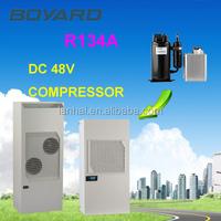 r134a telecom bts 48v dc inverter rotary compressor 1500 btu for solar air conditioner DC Air Conditioner for telecom