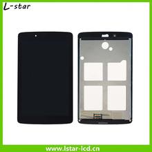 Alta calidad LCD Full cristal de la pantalla táctil digitalizador asamblea pieza de recambio para el LG Tablet 7.0 V400
