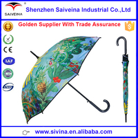 Hot sale high quality Chinese style fancy oil painting exotic parasols for women
