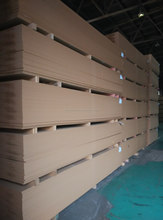 white melamine faced mdf board of big size 16*1830*3660mm