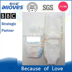 TKBS-10039 minicoco baby diapers,disposable diapers production line,non-woven fabric diaper high absorption elastic waistband