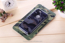 Cool fashion pc tpu camouflage pattern phone cases for iphone 6/for 6 plus/for samsung s5/for samsung s6 /for samsung s6 edge
