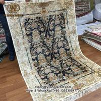 Turkish silk carpet design 130x190cm henan handmade oriental persian rugs value
