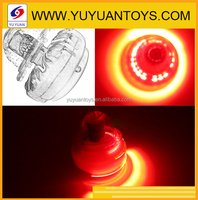2015 Hot selling! cheap spinning top for plastic peg-top toys with light